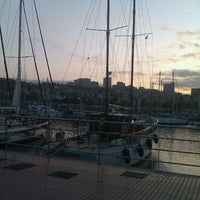 Photo taken at Muelle Deportivo by Ailin B. on 9/20/2011
