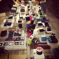 Photo taken at Lomography Gallery Store by Bruno M. on 10/14/2011