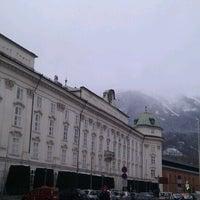 Photo taken at Hofburg Innsbruck by Florian on 12/20/2011