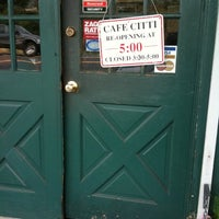 Photo taken at Cafe Citti by Stephen H. on 5/30/2011