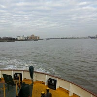 Photo taken at Woolwich Ferry by Cason o. on 3/5/2012