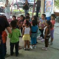 Photo taken at Jardin de niños Jose Maria Morelos by Christie D. on 4/27/2012