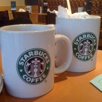 Photo taken at Starbucks Coffee by Peter T. on 1/22/2012