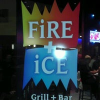 Photo taken at FiRE + iCE Grill + Bar by Alejandro C. on 9/18/2011