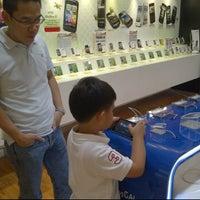 Photo taken at Selular Shop Gandaria City by Liem T. on 1/8/2012