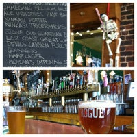 Photo taken at Rogue Ales Public House by Dan K. on 4/21/2012