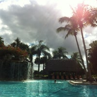 Photo taken at Bonaventure Resort & Spa by kate F. on 12/17/2011
