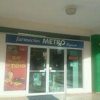 Photo taken at Farmacia Metro by Claudio F. on 8/11/2011