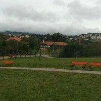 Photo taken at Parque Germânia by Felipe U. on 8/13/2012