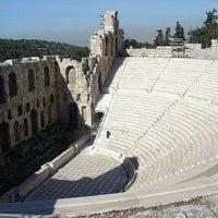 Photo taken at Herod Atticus Odeon by Idomeneas on 3/17/2011