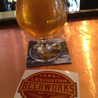 Photo taken at Lexington Beerworks by Fileme U. on 5/27/2012