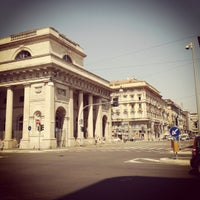 Photo taken at Porta Venezia by Filipp on 8/20/2012
