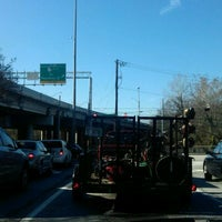 Photo taken at I-85 Exit 88: Cheshire Bridge Road by Michael K. on 12/8/2011