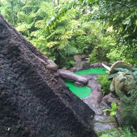 Photo taken at Dino Park Mini Golf by Kittipong J. on 9/28/2011