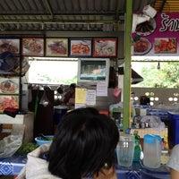 Photo taken at ร้านป้ายชมพู by จางยูมิน on 8/19/2012