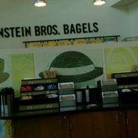 Photo taken at Einstein Bros Bagels by L'jai Propa Styla F. on 8/24/2011