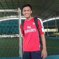 Photo taken at Futsal Galuh Mas by dekta h. on 9/20/2011
