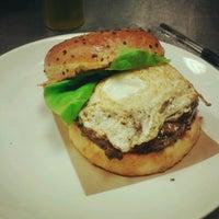 Photo taken at Blanc Burgers + Bottles by Sarah F. on 6/8/2012