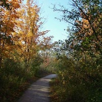 Photo taken at High Cliff State Park by Heather J. on 10/9/2011