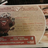 Photo taken at Lomos & Costillas by Xinaa J. on 8/1/2012