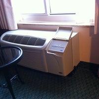 Photo taken at Hilton Garden Inn Kansas City by Brad on 8/14/2012