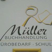 Das Foto wurde bei Müller Büro & Buch Buchhandlung - Bürobedarf - Schreibwaren von Hans B. am 12/26/2011 aufgenommen
