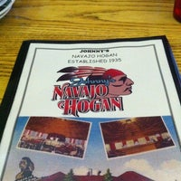 Photo taken at Johnny's Navajo Hogan by Z on 8/21/2012