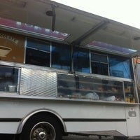 Photo taken at La Penca Azul Taco Truck by Mike M. on 8/4/2012