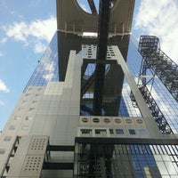 Photo taken at Umeda Sky Building by osakaiemon on 9/6/2011