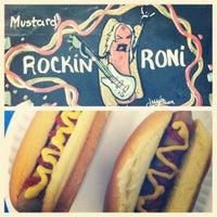 Photo taken at Elvis's Hot Dog Palace by Olivia G. on 11/9/2011