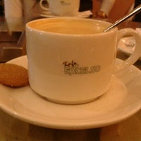 Photo taken at EXCELSO Café by anang i. on 1/11/2012