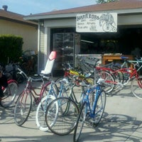 Photo taken at Warriors Bike Shop by Winnie R. on 3/16/2012