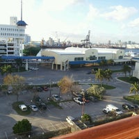 Photo taken at Port Everglades by Miguel B. on 12/21/2011