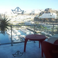 Photo taken at Marina Suites Gran Canaria by Xemi R. on 8/16/2012