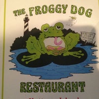 Photo taken at The Froggy Dog by Amanda K. on 7/20/2012