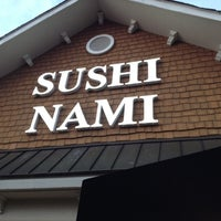 Photo taken at Sushi Nami Japanese Restaurant by Michael J. on 2/17/2012