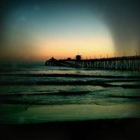 Photo taken at Imperial Beach Pier by Kassie 🐾👸 on 6/21/2011
