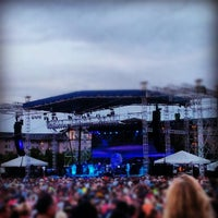 Photo taken at Soaring Eagle Outdoor Concert Venue by Kyle H. on 7/30/2012
