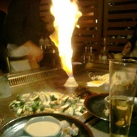 Photo taken at Nakama Japanese Steakhouse by Nicole D. on 2/13/2012