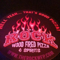 Photo taken at The Rock Wood Fired Kitchen by Just P. on 11/8/2011