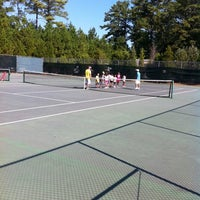 Photo taken at Newtown Tennis Courts by Sue F. on 8/27/2011