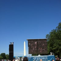 Photo taken at GWU Graduation Ceremony on the National Mall 2012 by Betsy M. on 5/20/2012