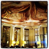 Photo taken at Le Meurice by Dan D. on 10/25/2011