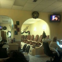 Photo taken at World Nails by Kathleen C. on 12/22/2011