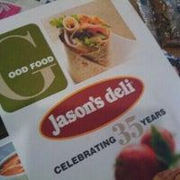 Photo taken at Jason's Deli by S L. on 9/28/2011