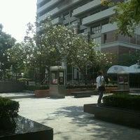 Photo taken at Bangkok University by Nopvarach P. on 3/18/2012
