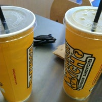 Photo taken at Which Wich? Superior Sandwiches by Olivia on 8/20/2012