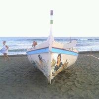 Photo taken at Rincón de la Victoria Beach by Gustavo M. on 7/14/2012
