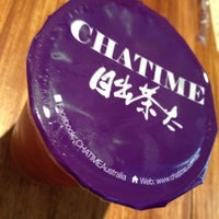 Photo taken at ChaTime (曰出茶太) by Stephenie R. on 8/13/2012