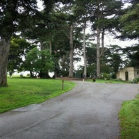 Photo taken at Alamo Square Dog Park by Nikolaj Hald N. on 11/24/2011